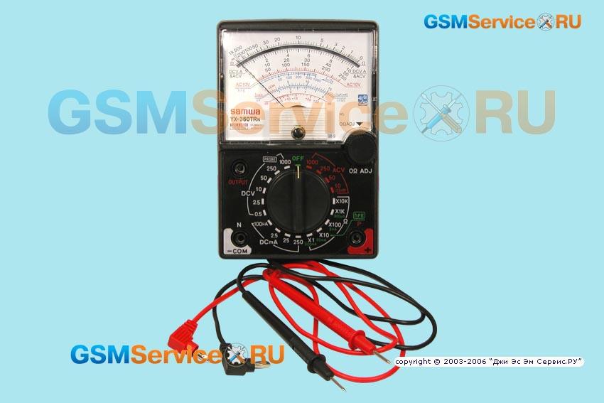 мультиметр Sanwa Yx-360trn инструкция - фото 7