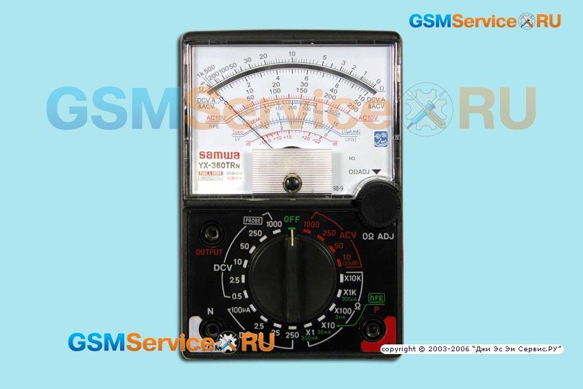 мультиметр Sanwa Yx-360trn инструкция img-1